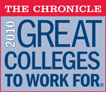 Lasell Named Great College To Work For 2010