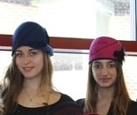 Hats Off to Lasell Student Work in Wearable Art Holiday Auction