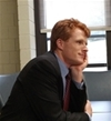 Congressman Joe Kennedy Meets with Poli Sci Class