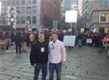 Communications Majors Assist at NBC's Today Show during its Boston Visit