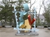 Lasell Installs Michael Bigger Sculpture on Campus