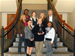 Lasell Legal Society Wins Award at Mock Trial Competition