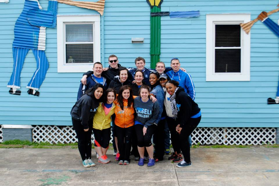 College writing service trips spring break