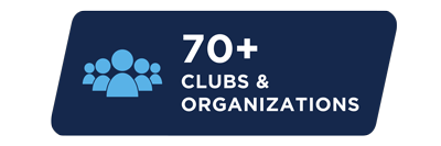 More than 70 clubs and organizations