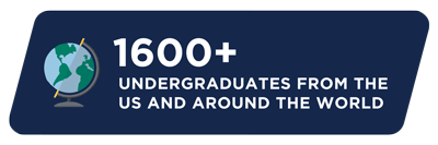 More than 1600 undergraduates from the US and around the world