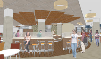 Toll Lasell Readies For Enhanced Dining Experience In Renovated Valentine Hall U2013  Lasell College