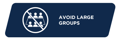 Avoid large groups