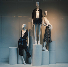 Fashion Media and Marketing Storefront Display